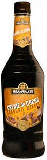 Hiram Walker Liqueur Creme de Cocoa Brown 30@ 750ml - Case...